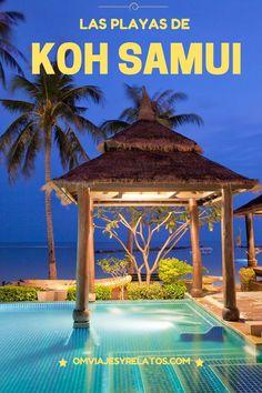 Recorremos las mejores playas de las isla de Koh Samui en Tailandia...
