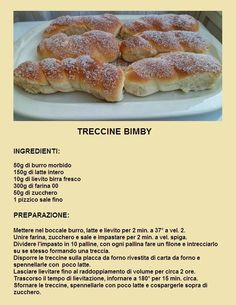 treccine My Recipes, Italian Recipes, Cake Recipes, Cooking Recipes, Favorite Recipes, Lidl, Best Banana Bread, Tasty, Yummy Food