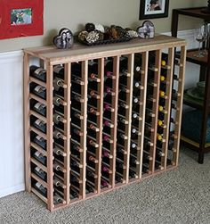 Best Wine Rack   Creekside 72 Bottle Table Wine Rack Redwood by Creekside  Exclusive 12 inch deep design conceals entire wine bottles Handsanded to perfection Redwood *** Check out the image by visiting the link.(It is Amazon affiliate link) #igaddict