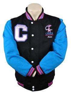 Caper School of Performing Arts Custom Dance Jacket Front