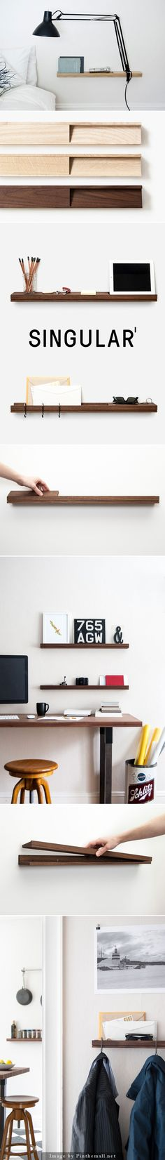 Fresh Handmade for the Home: Introducing Singular shelving