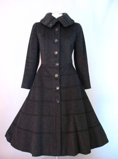 Coat 1953, Made of wool