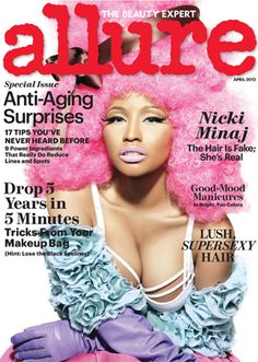 Allure Magazine is like a thick, slick advertisement for everything beauty and fashion. It is for real fashion and beauty addicts – like me. Just about every other page is an ad for something…   Women's Fashion Magazines