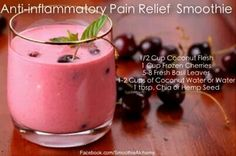 Yum! After workout smoothie.