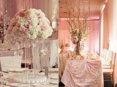 elegant wedding reception - Google Search