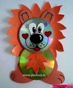 Kids fun creative idea from cd | Crazzy Craft