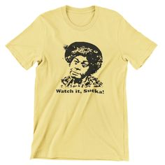 Aunt Esther Watch it Sucka! T Shirt Hand screen-printed Sanford and Son Men's / Ladies / Fitted / metv / Vintage Style by cottonpickincrazy on Etsy Willie Nelson T Shirts, Sanford And Son, Young T, Cut Tees, Gifts For My Boyfriend, Vintage Fashion, Vintage Style, Mens Tees