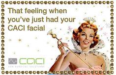 Amazing ! #caci treatments