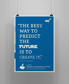 UPP Pension Enrolment poster design