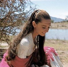 """Audrey on location in Durango, Mexico filming """"The Unforgiven"""" (1959 / movie release, April 1960)"""
