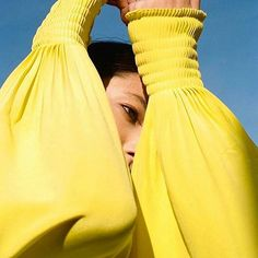 Taking inspiration from WGSN's sister brand @coloro_'s account with this seriously beautiful fashion editorial from @teenvogue, part of our #editortakeover from editor @hjrc_atlas   #wgsn #trendforecasting #wgsntrend #trend #colour #coloroftheday #colourforecasting #teenvogue #fashioneditorial #coloro #yellow