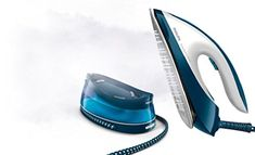 Philips PerfectCare Compact Steam Generator Iron with 250 g Steam Boost - Uk Appliances Direct Steam Generator Iron, Iron Steamer, High Tech Gadgets, Water Tank, Compact, Home Appliances, Steamers, 5 Hours, Discovery