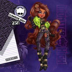"𝕸𝖆𝖗𝖙𝖎𝖓/Courtney VanDer Devil 💋 shared a post on Instagram: ""Monster high 💀#Callingallthemonsters Clawdeen Wolf 🐺 @monsterhigh . . . As a reason to celebrate…"" • Follow their account to see 280 posts. Monster High, Calling All The Monsters, Wolf, Ever After High, Anime Outfits, Devil, Instagram, Disney, Fictional Characters"