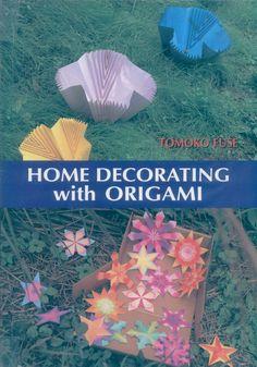 Elementos decorativos hecho con la técnica de origami