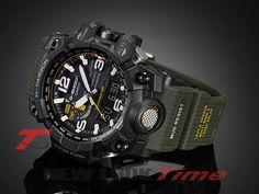 Relógio CASIO G-Shock Mudmaster GWG-1000-1A3 Tough Solar - New Look Time