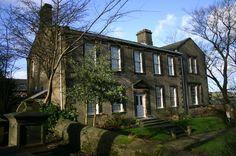 bronte parsonage, bronte sisters, england, haworth, house - image ...