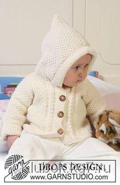 Курточка для малыша (DROPS Baby 19-5.) | Клубок