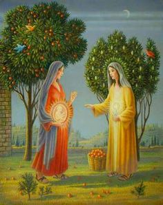 Lessons 7 from the Divine Office for the Solemnity of the Most Holy Rosary of the Blessed Virgin Mary: Luke Sermon on Sancta Maria by St. Catholic Mass Readings, Catholic Art, Religious Art, Catholic Catechism, Blessed Mother Mary, Blessed Virgin Mary, Pape Jean Paul Ii, Mama Mary, Mary 1