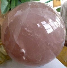 Very Large Lavender Rose Quartz Crystal by StonesofEnchantment, $349.99