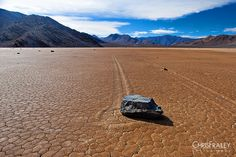 Moving Rocks of Death Valley