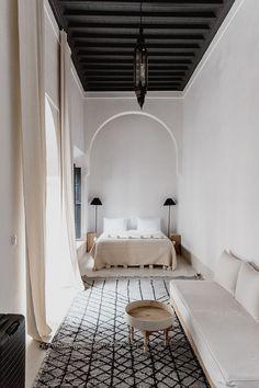 home of the week: a minimalist riad in Marrakech's Medina, . Holiday home of the week: a minimalist riad in Marrakech's Medina, Holiday home of the week: a minimalist riad in Marrakech's Medina, PPAA Moroccan Interiors, Moroccan Decor, Moroccan Design, Moroccan Lanterns, Bohemian Interior Design, Modern Interior Design, Interior Architecture, Monsaraz, Minimalist Interior