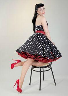 Beautiful Petticoat Dress