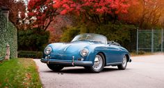 This 1956 Porsche 356A 1600 Speedster Couldn't Be More Photogenic. And it's up for grabs.