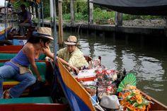 (Dicas de Bangkok: povo ribeirinho do rio Chao Phraya)