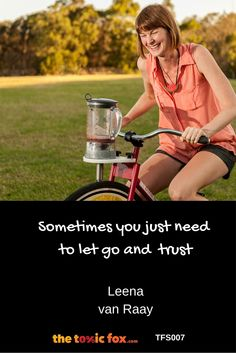 Leena van Raay | Pedalling health and wellness | TFS007 - The Toxic Fox Health And Wellness, Fox, Health Fitness, Foxes