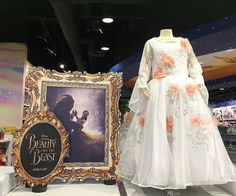Belle's Celebration dress. Beauty and the Beast (2017)--I wish there were more photos of this dress!!!