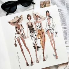 @ marina_sidneva… The Effective Pictures We Offer You About fashion sketches high A quality picture Fashion Design Sketchbook, Fashion Illustration Sketches, Illustration Mode, Fashion Design Drawings, Fashion Sketches, Drawing Fashion, Design Illustrations, Medical Illustration, School Fashion