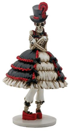 Steam Punk Skeleton Girl Day of the Dead Figurine 8286 New Halloween Decoration Skeleton Girl, Women Skeleton, Steampunk Design, Steampunk Fashion, Steampunk Cosplay, Girl Day, Skull And Bones, Collectible Figurines, Gothic Girls