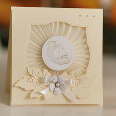 ATELIER RETRO: Eleganckie kartki, zaproszenia komunijne ...