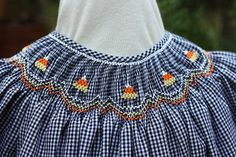 Creations By Michie` Blog: Candy Corn Smocking Design