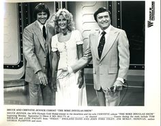 Mr & Mrs Bruce Jenner on The Mike Douglas Show Bruce Jenner, The Mike, Those Were The Days, Mr Mrs, Suit Jacket, Breast, Classic, Fashion, Derby
