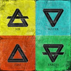 colors of the 4 elements - Google Search