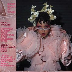 AVANTgarden Magazine Issue FKA twigs wears a dress by John Galliano for Christian Dior, Ready-to-wear Fall 2003 collection. Photographer Orograph, styled by Matthew Josephs Foto Fantasy, Harajuku, Aesthetic People, Mode Vintage, Poses, Style Icons, Editorial Fashion, Grunge, Indie