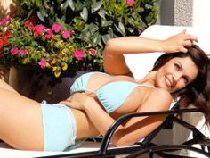 Gorgeous, sexy, curvy bikini girls. #Beauty #Gorgeous #Bikini #Sexy  Denise Milani