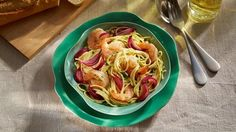 Nudelsalat+mit+Honig-Senf+Dressing+und+Garnelen+Rezept+»+Knorr