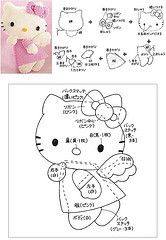 !!!! Felt-Aholic ♥ ♥ Molds and pap Felt and Felt stamped !: mold hello kitty felt with wings