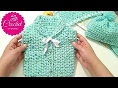 How to #Crochet a Vest #1 for #beginners Baby Shower Set Children & Kids |The Crochet Shop - YouTube