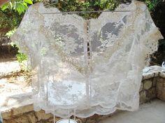 Indian Mountain white bridal lace blouse lace top white lace blouse bridal bolero jacket wedding bolero wedding shrug