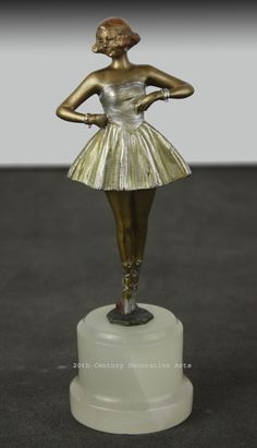 An Art DEco bronze by Bruno Zach, Vienna 1930s.