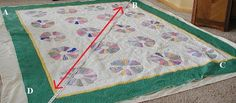 A Fabric Playground: Blocking A Quilt