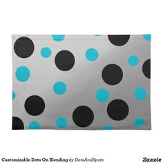 Customizable Dots On Blending Cloth Place Mat