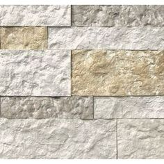 Shop AirStone 6-lin ft Autumn Mountain Faux Stone Veneer at Lowes.com