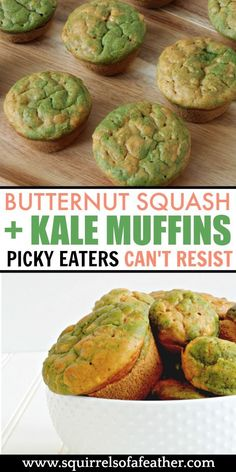 My picky kids loved these pumpkin spice butternut squash muffins - the perfect fall recipe for picky eaters for breakfast, lunch, or a quick snack. Hell, those would be great at Halloween or Thanksgiving parties too! friendly recipes for picky eaters Healthy Toddler Meals, Healthy Work Snacks, Quick Snacks, Kids Meals, Toddler Food, Healthy Muffin Recipes, Healthy Muffins, Baby Food Recipes, Fall Recipes