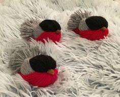 Bullfinch ~ Domherre ~ Yarn bird