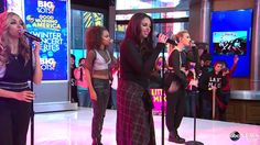 Little Mix - Little Me - Good Morning America (02/04/2014)- ON POINT. lets talk about the harmony breakdown here