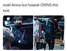 Looks like a BTS Outcast look if you ask me but Jhope, Namjoon, Jimin, Seokjin, Taehyung, Jung Hoseok, Bts Memes, K Pop, I Love Bts